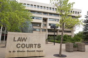 The Edmonton Law Courts, housing provincial courts, family courts, the Court of Appeal and Court of Queen's Bench, is seen in downtown Edmonton, Alta., Monday, June 9, 2014. Ian Kucerak/Edmonton Sun