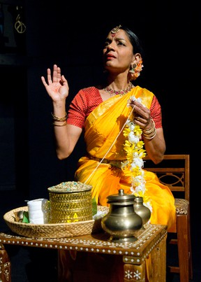 Western University professor Vidya Natarajan starred in Friend of Mine, a story about the temple dancers of India and a missionary determined to reform them, which Free Press reviewer Joe Belanger describes as the most beautiful show in the 2014 London Fringe Festival. (Craig Glover/London Free Press)