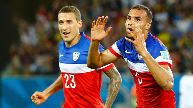 It was a big night for John Brooks and U.S. soccer Monday. (Reuters)
