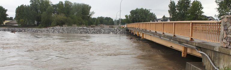 PHOTO BY KEVIN RUSHWORTH HIGH RIVER TIMES/QMI AGENCY The Highwood River at 8:30 a.m. on Thursday, June 19, 2014.