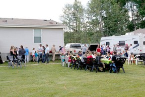 Community members gathered for a barbecue last weekend hosted by the DV Area Rural Crime Watch.