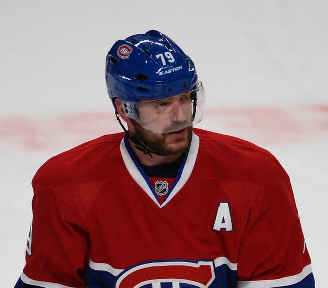 Andrei Markov during the warm-up of Game 5 of the Eastern Conference Finals between the New York Rangers and Montreal Canadiens at the Bell Centre Tuesday, May 27, 2014. (MARTIN CHEVALIER/QMI AGENCY)