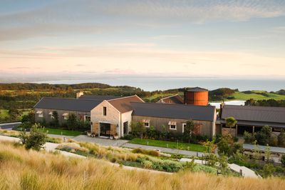 The Farm at Cape Kidnappers is a bucolic retreat and one of 28 exclusive Luxury Lodges of New Zealand. It's  elegant lodge, gourmet restaurant and full service spa sit in the middle of a real working farm. PHOTO COURTESY THE FARM AT CAPE KIDNAPPERS