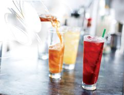 Teavana Shaken Iced Peach Green Tea Lemonade and Teavana Shaken Iced Blackberry Mojito Tea Lemonade have been added to Starbucks' menu, but only for a limited time.