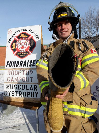 Edmonton Firefighters Need Your Help To Fill Their Boots