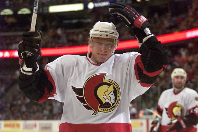 Image result for marian hossa ottawa senators