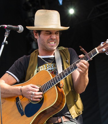 Langhorne Slim performs on the River Stage at Bluesfest on Saturday July 5, 2014. Errol McGihon/Ottawa Sun/QMI Agency