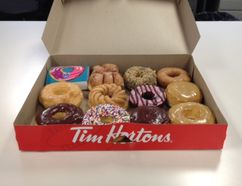 Tim Hortons Duelling Donuts contest is back. The winner will receive $10,000 and their doughnut will be featured on the menu. (Mark Daniell/QMI Agency)