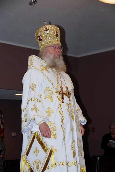 A judge has sentenced former archbishop Kenneth (Seraphim) Storheim to eight months in jail for sexually assaulting a young altar boy 30 years ago.