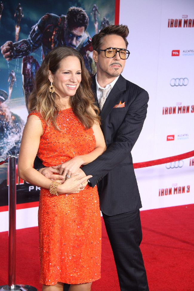 "Robert Downey Jr. with wife Susan. (<A HREF=""http://www.wenn.com"" TARGET=""newwindow"">WENN.COM</a>)"