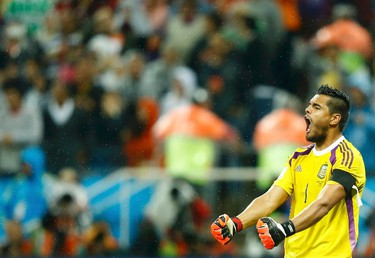 It wasn't anywhere close to the thrilling Germany and Brazil semifinal match up on Tuesday, as the Netherlands lost to Argentina 4-2 in a penalty shoot out after going scoreless for 120 minutes. (REUTERS)