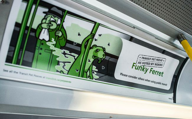 TransLink campaign includes catchy slogans. (FILE PHOTO/24 HOURS)