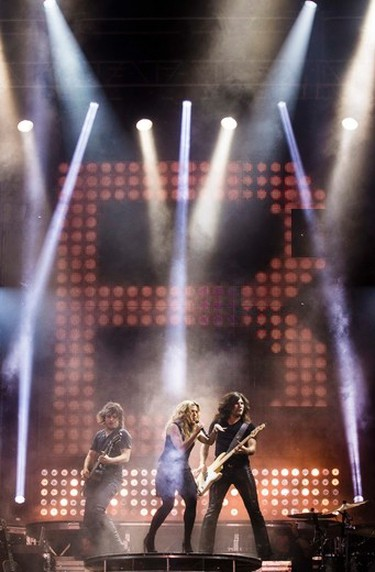 The Band Perry, (L-R) Neil, Kimberly, and Reid Perry, performing at Bluesfest in Ottawa on Thursday July 10, 2014. Errol McGihon/Ottawa Sun/QMI Agency