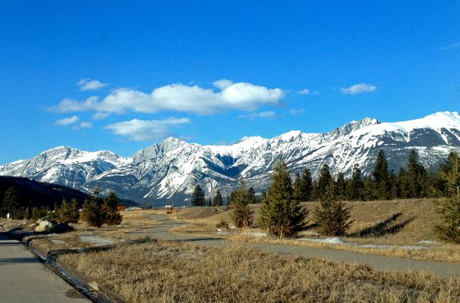 A bike/walking path is pictured in Alberta's Jasper National Park in this file photo. (Steve Serviss/QMI Agency)
