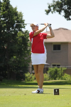 Bath's Augusta James has earned a berth in the U.S. Women's Amateur Golf Championship. (Golf Association of Ontario)