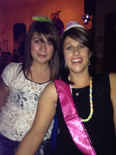 Meghan and her mother Jen Ruston at Ruston's bachelorette party.