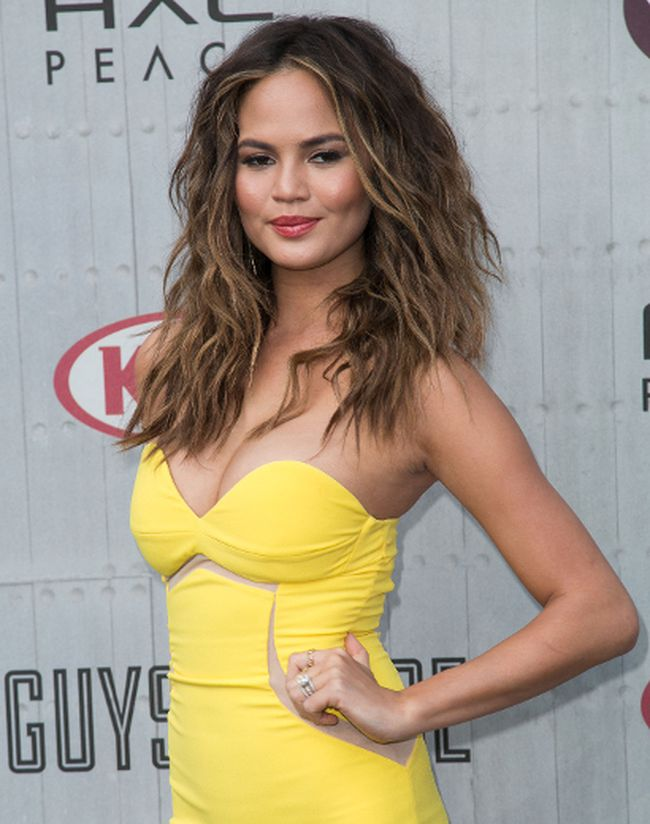 Chrissy Teigen at Spike TV's 'Guys Choice' 2014 at Sony Pictures Studios on June 7, 2014. (Brian To/WENN.com)