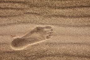 A 78-year-old Utah woman was stuck in quicksand for more than 12 hours before sheriff's deputies found her on a trail in the dark near Arches National Park. Fotolia.com (Sand Image)