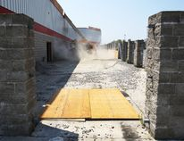 Demolition teams have started tearing away frontage of the former Zellers location on Bell Boulevard in Belleville, Ont. to get the site ready for a host of retailers. (Tuesday, July 22, 2014) - Jerome Lessard/The Intelligencer/QMI Agency