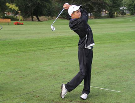 Sarnia's Adam Graham has qualified for the Canadian Junior Golf Championships after finishing 13th at provincials, July 15-18. He's just one example of emerging golf talent in Canada. (SHAUN BISSON, The Observer)