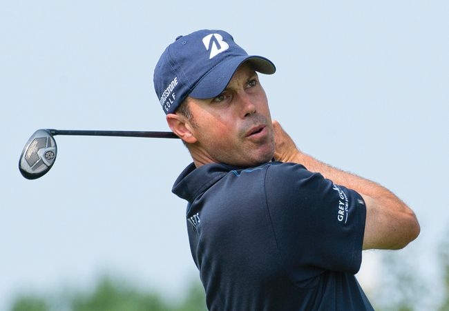 American Matt Kuchar shot a 65 yesterday and is among eight players tied for ninth heading into the third round of the Canadian Open at Royal Montreal. (QMI PHOTOS)