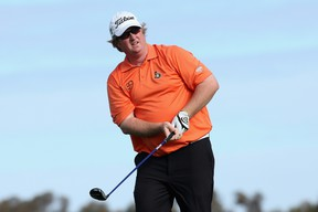 Ottawa golfer Brad Fritsch shot 72-68-67-64 during this weekend's Canadian Open. (AFP)