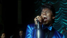 Chadwick Boseman as James Brown in Get On Up.  (Courtesy)