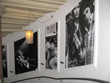 Guests at the Hard Days Night Hotel in Liverpool should take the stairs at least once to enjoy the fab display of vintage Beatles photographs. PATRICIA JOB/TORONTO SUN