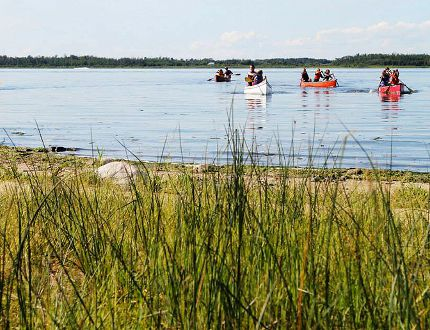 A blue-green algae advisory has been issued for Hastings Lake in Strathcona County, Alberta. Photo Courtesy/Hastings Lake Lutheran Bible Camp