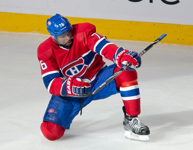 P.K. Subban has signed an eight-year extension with the Montreal Canadiens. (QMI Agency)