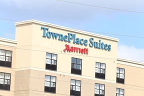Gino Donato/The Sudbury Star The TownePlace Suites hotel on The Kingsway.