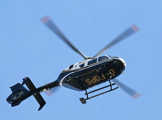 An OPP helicopter. (Clifford Skarstedt/QMI Agency file photo)