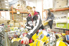While agencies such as the London Food Bank are doing great work, we need to encourage grocery stores to send their wasted food to the city?s struggling low-income and homeless residents. (London Free Press file Photo)