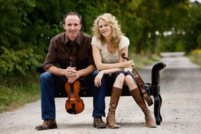 The husband-and-wife duo of fiddlers Donnell Leahy and Natalie MacMaster will perform at the Napanee County Courthouse on Aug. 23. (Supplied photo)