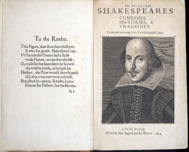 A rare copy of The First Folio by William Shakespeare will be on display at Stratford Perth Museum this weekend. (Contributed photo)