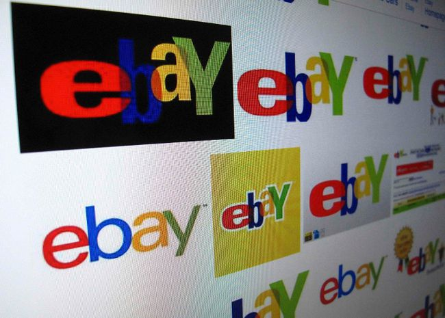 The results of a Google image search on Ebay are shown on a monitor in this photo illustration in Encinitas, California, April 16, 2013. (REUTERS/Mike Blake)