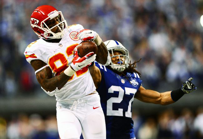 Kansas City Chiefs wide receiver Dwayne Bowe was suspended after he was reportedly caught speeding and in possession of marijuana in November. (USA Today)