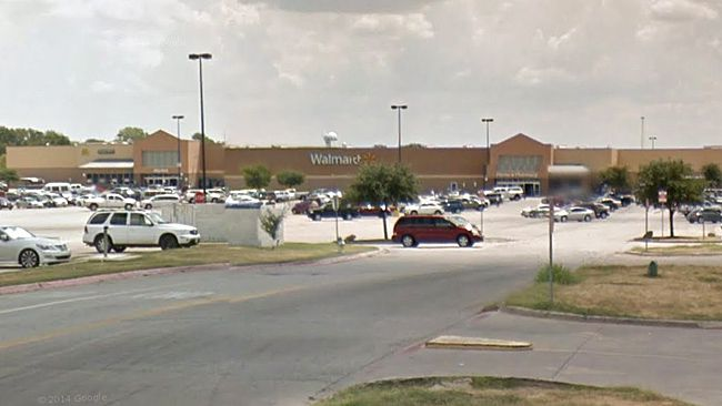 Walmart in Corsicana, Texas