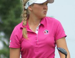 Brooke Henderson, 16, of Smiths Falls, Ontario captured the PGA Women's Championship at FireRock Golf Club and is in the field this week at London Hunt and Country Club.