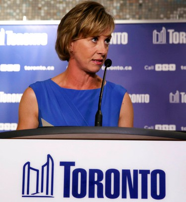 Karen Stintz announced in August that she was dropping out of Toronto's mayoral race. (VERONICA HENRI/Toronto Sun)