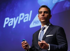 Former PayPal CEO David Marcus is seen in a file photo. REUTERS/Yuriko Nakao/Files