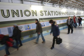 Views of Union Station where the new Union Pearson Express will be built. (Jack Boland/Toronto Sun)