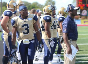 Cauchy Muamba most recently played for the Winnipeg Blue Bombers. (QMI Agency)