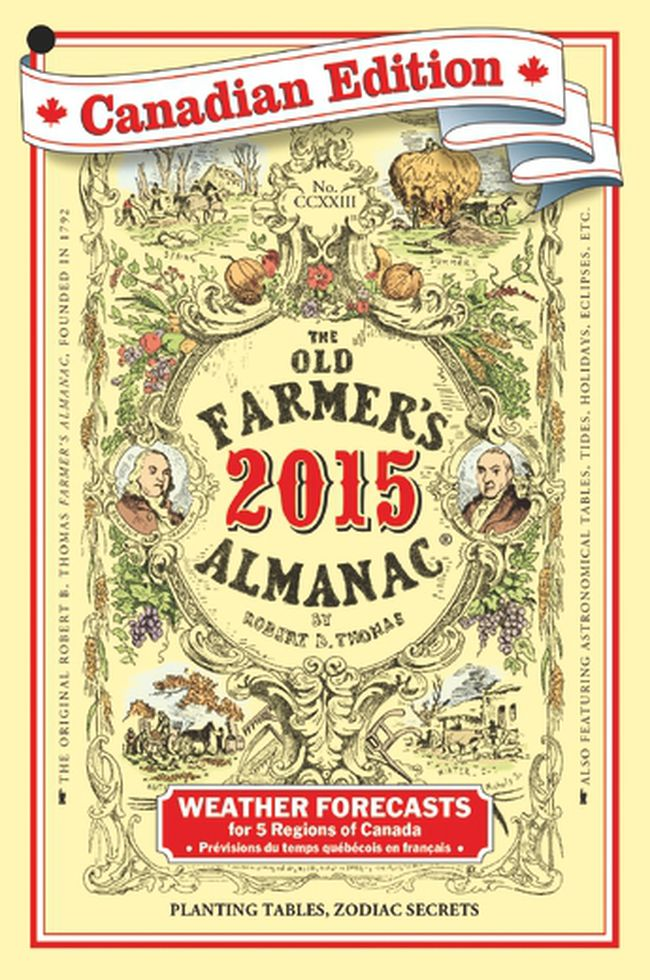 Something always new with Old Farmer's Almanac.