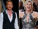 Neil Patrick Harris, left, Jane Lynch, middle, and Charlie Sheen. (Reuters file photos)