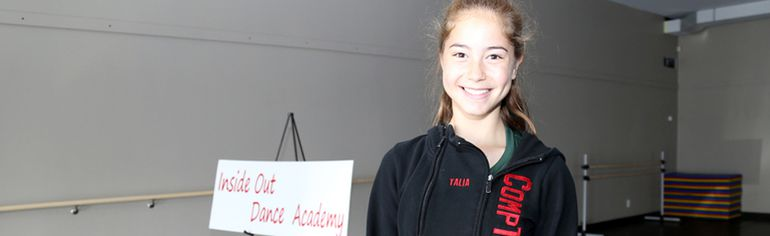 13-year-old Talia Gauthier from Quinte West has been chosen for the Canadian National Dance Team. She'll head to competitions in Prague, Czech Republic and then Mikolajki, Poland with the team. Emily Mountney-Lessard/The Intelligencer/QMI Agency