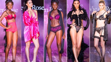 Canadian lingerie brand, La Vie en Rose, held a fashion show in Montreal at the Festival Mode&Design de Montréal. Here are some of our favourite looks. What do you think?