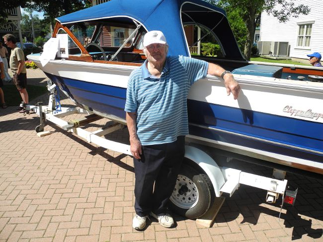 Charlie Cliffe has been keeping Thousand Islands sailors afloat for nearly seven decades. (Wayne Lowrie/QMI Agency)