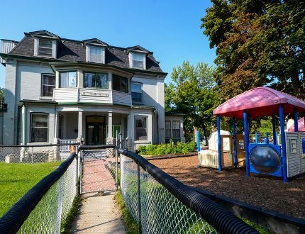 The preschool house at 169 Union St. has been a Queen's Daycare space for the entirety of its 45 operational years. The daycare is looking for another permanent space as renovations to the building have been deemed too expensive for the university to undertake. (Alex Pickering/For The Whig-Standard)