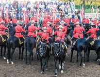 The RCMP musical ride entertained a huge crowd at the Wetaskiwin Ag Grounds on Aug. 20.